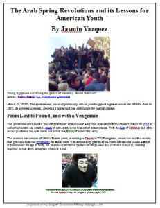 Arab Spring as JPEG
